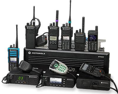 alot of radios