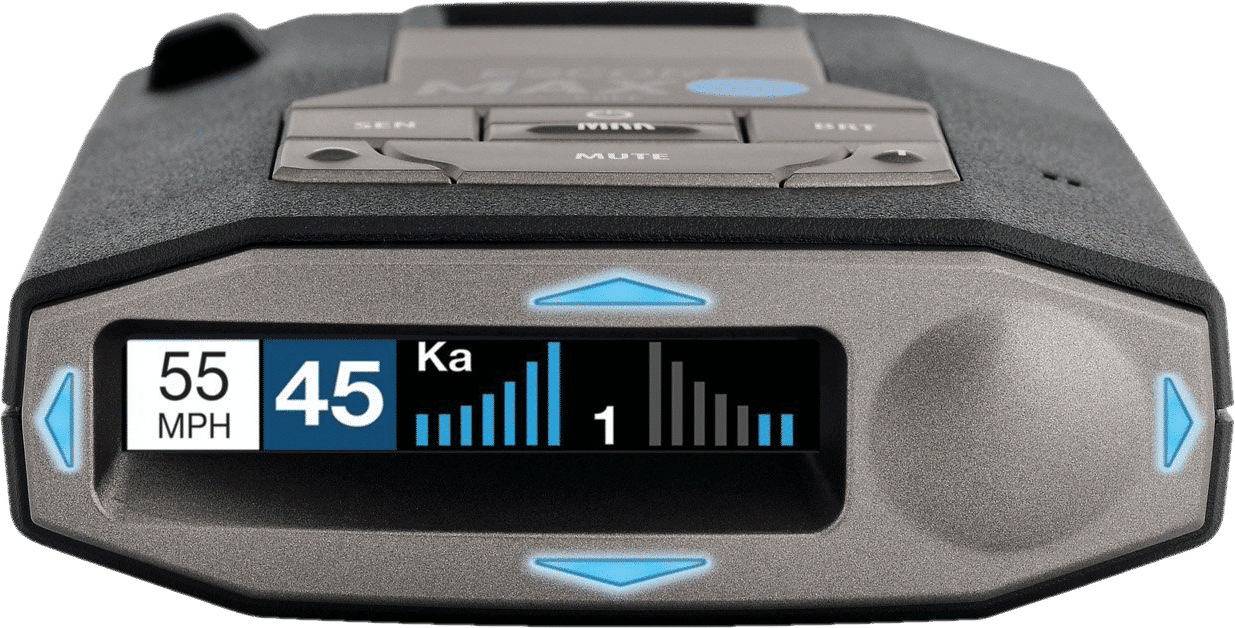 photo of escort max 360c radar detector